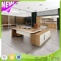 2016 Newest Design High End Modern American Simple Style Office Furniture Boss Office Director/CEO U