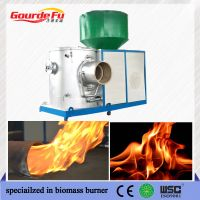 sawdust green energy burner for brick furnace