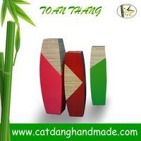 Classic Bamboo Vase, non- toxic substance, non-irritation, lightweight