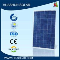 2015 Top Sale Premium Quality Low Price 245-265W Solar Panel
