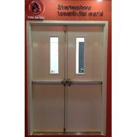 FM WH UL steel fire hollow metal door exit panic bar closer