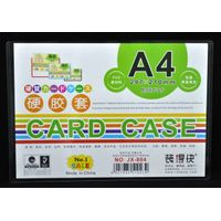 PVC card case A4,A1.A2 card holder,wall mount card holder