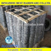 hot dipped single strand twist strand galvanized Barbed Wire