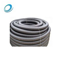 Ultra thick 100/110mm HDPE carbon spiral corrugated pipe electrical cable protection pipe thumbnail image