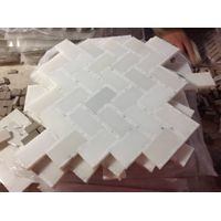 mosaic tile white marble mosaic polished