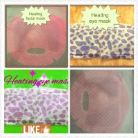 Heating Eye Mask, Heating Facial Mask, Nonwoven Fabric, Ecofriendly,Printed