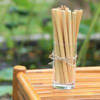 Best Selling OEM Laser Custom Logo Customized Length Reusable Drinking straws Vietnam Bamboo Straw