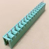 5.0/5.08mm Terminal Block 15Pin PCB MALE 180