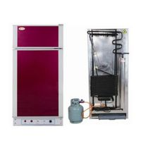 Large Capacity Silent Gas Kerosene Refrigerator With Freezer