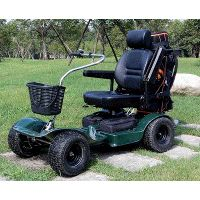 single seat golf cart, electric buggy, folding mobility thumbnail image