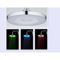 RC-9826A China Supplier Multi-Function 9 Inch Round Water Driving Led Overhead Shower thumbnail image
