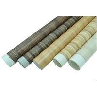 matt wood grain PVC film for furniture / construction decorative lamination