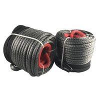 Winch rope grey color