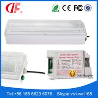 1W 3W 5W 8W Emergency Bulkhead Light, LED Water-proof Emergency Light, IP40/IP42/IP65/IP66 Emergency