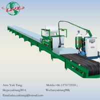 Polystyrene cold roll sandwich panel PU foam sheet roll formng making machine