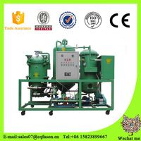 Environmental and safe continuous lube oil purifier