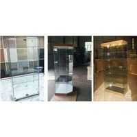 the glass display showcase, glass cabinet,display cabinet