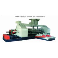 Heavy model wood veneer peeling machine for making plywood
