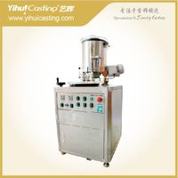 Jewelry Vacuum Investment casting powder mixer machinery
