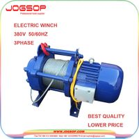 Small Light Duty Electric Winch Cable Pulling Electric Winches thumbnail image