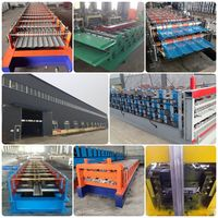 customized 686/840 trapezoid steel galvanized aluminium ibr roof sheet roll forming making machine thumbnail image