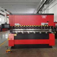 Hydraulic CNC press brake bending machine for sheet metal processing with 100Tons thumbnail image