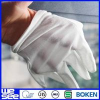 garden gloves 100% cotton gloves