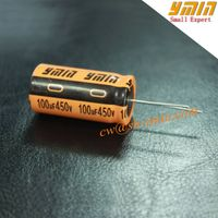 Energy Storage Capacitor 100uF 450V Radial Electrolytic Capacitor for General Purpose
