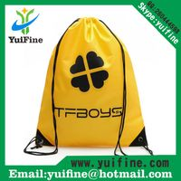 Drawstring Non woven tote bag gift Bag Advertising Bag Customized LOGO Promotional nonwoven Bags thumbnail image