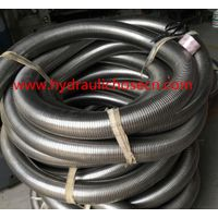 Truck exhaust flexible interlock pipe / Stainles steel flexible exhaust pipe