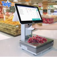 retail solution Telpo Pos Scales All In One Touch Android Cash Register Weighing Scale With Printer thumbnail image