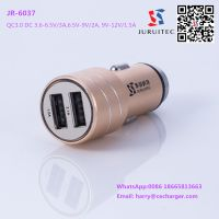 Alum Alloy Glasser breaker Usb Car Charger Connector With Quick Charger 3.0 and 4A Max Output thumbnail image