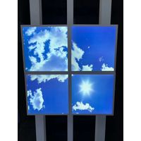 40W 3D SKY LED Ceiling Picture Panel Cloud Scene Recessed Panel Light 600 x 600mm Size thumbnail image