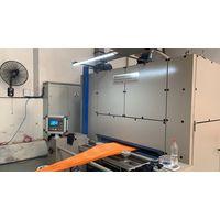 Single pass tubular heat setting machine