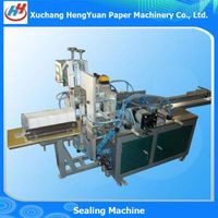 Semi Automatic Toilet Paper Flattening and Bagging Sealing Machine thumbnail image