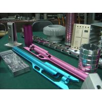 Supply all kinds of color or anodized aluminum parts