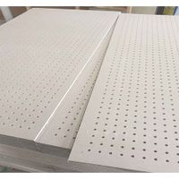 12mm perforated acoustic plasterboard