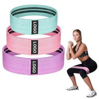 Elastic Fabric Booty Bands Hip Circles for Bodybuilding Shape Workout