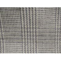 Vogue woven houndstooth woollen fabric 50%wool