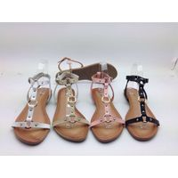 Lady shoes, Lady Flat sandals