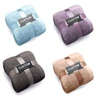 Fleece Bed Blanket Oversize Super Soft Warm Thick Plush Throw Lightweight Cozy Couch Blankets