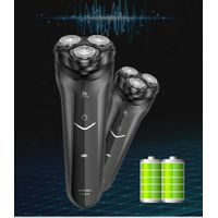 Sidemon shaver electric razor men's rechargeable smart wash three head car official genuine beard kn