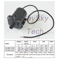 12V / 24V Micro DC Magnetic Isolation Pump DC40E Series Low Noise For Fountain / Aquarium / Cooling