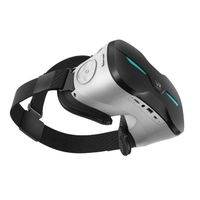 5.5'' LCD Screen Helmet Video Virtual Reality Glasses VR Box All in One