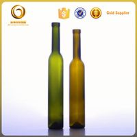 wonderful glass empty ice wine bottle 375ml