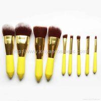 New Makeup Brush 8pieces Per Set Cosmetic Brush Tool With PU Bag Makeup Kit thumbnail image