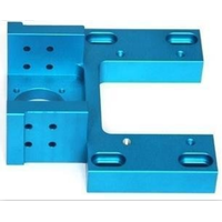 color anodized aluminum 6061 CNC maching part in China OEM factory