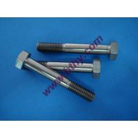 Gr 5 Titanium Hexagon Bolts DIN931