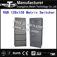 Digital RGBHV  matrix switcher  128*128