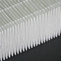 HEPA fiberglass filter media